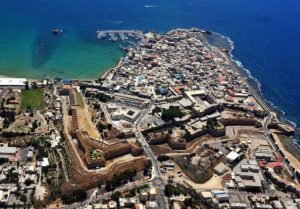 Acre Old City from above