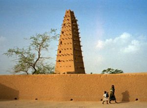 Agadez Mosque - tallest adobe structure in the world