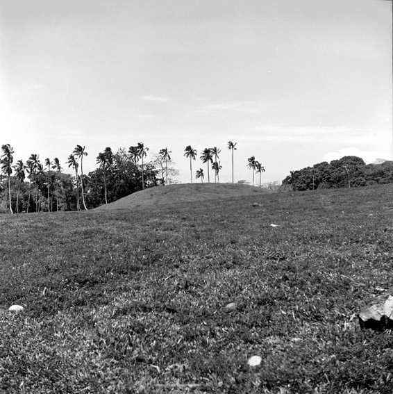 Ak Muni Mound, one of Vailele Mounds in Samoa