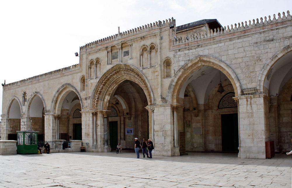Al-Aqsa Mosque in Jerusalem, entrance