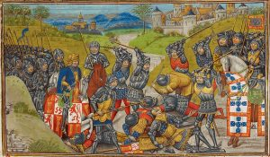 Aljubarrota Battle in 1385