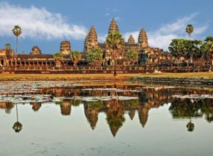 Five central towers of Angkor Wat