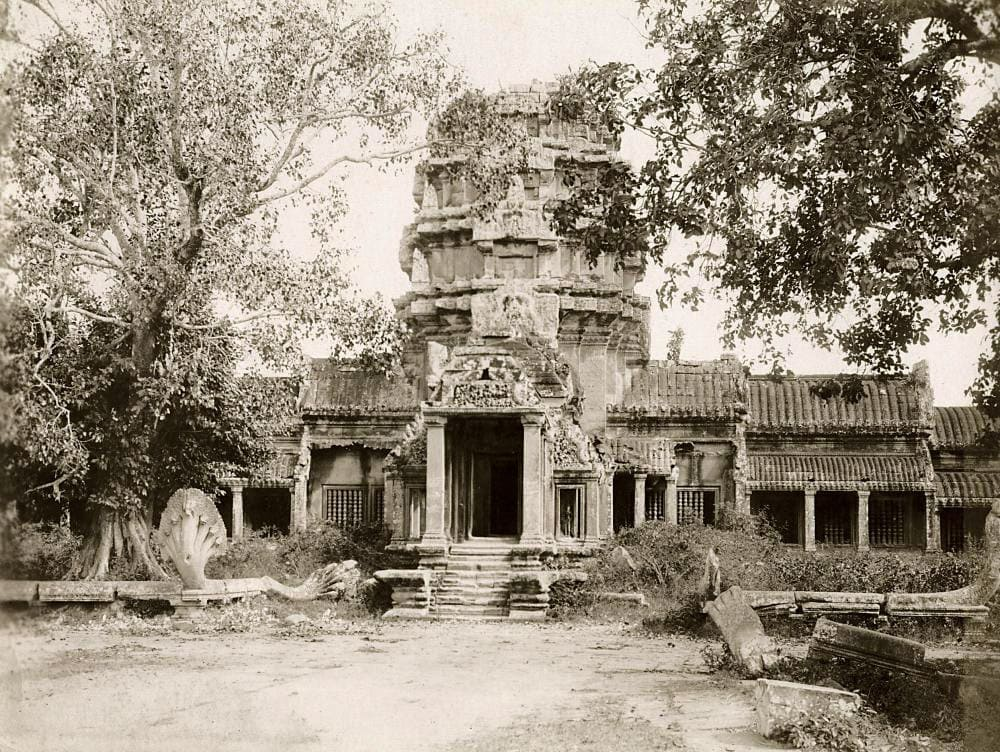 Angkor Wat in the first years of the 20th century