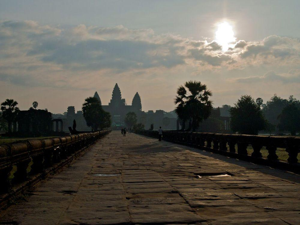 Bridge to Angkor Wat