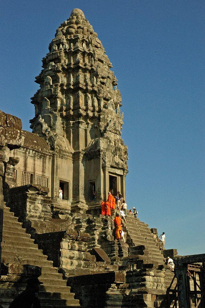 South-western tower of Angkor Wat