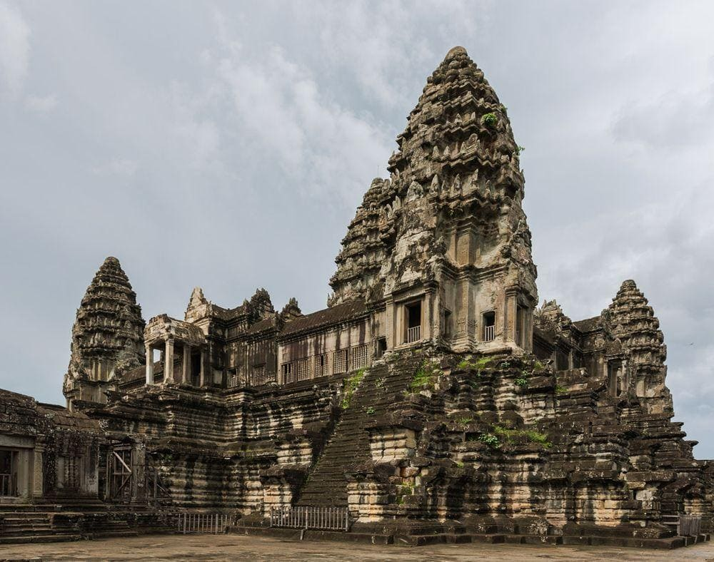 Central towers, Angkor Wat