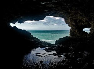 View from Animal Flower Cave, Barbados