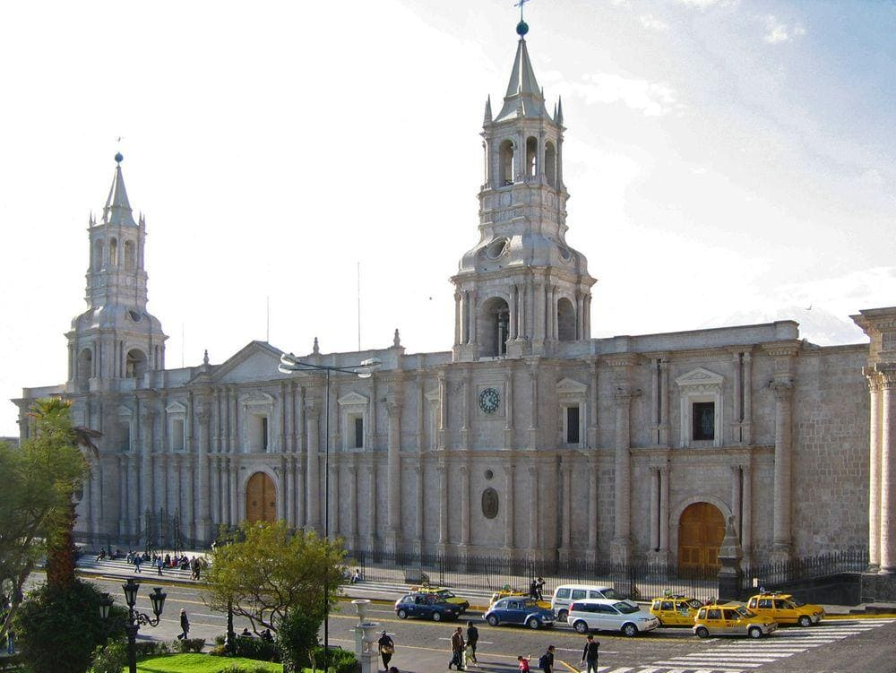 Basilica Cathedral of Arequipa, Peru