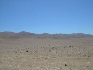 Landscape near Antofagasta, not too far from Yungay, Chile