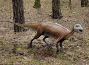Atlascopcosaurus loadsi, model in Jura Park, Poland