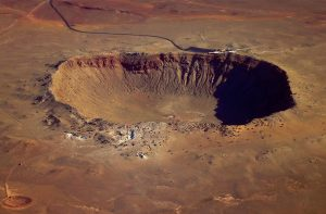 Meteor Crater from the south