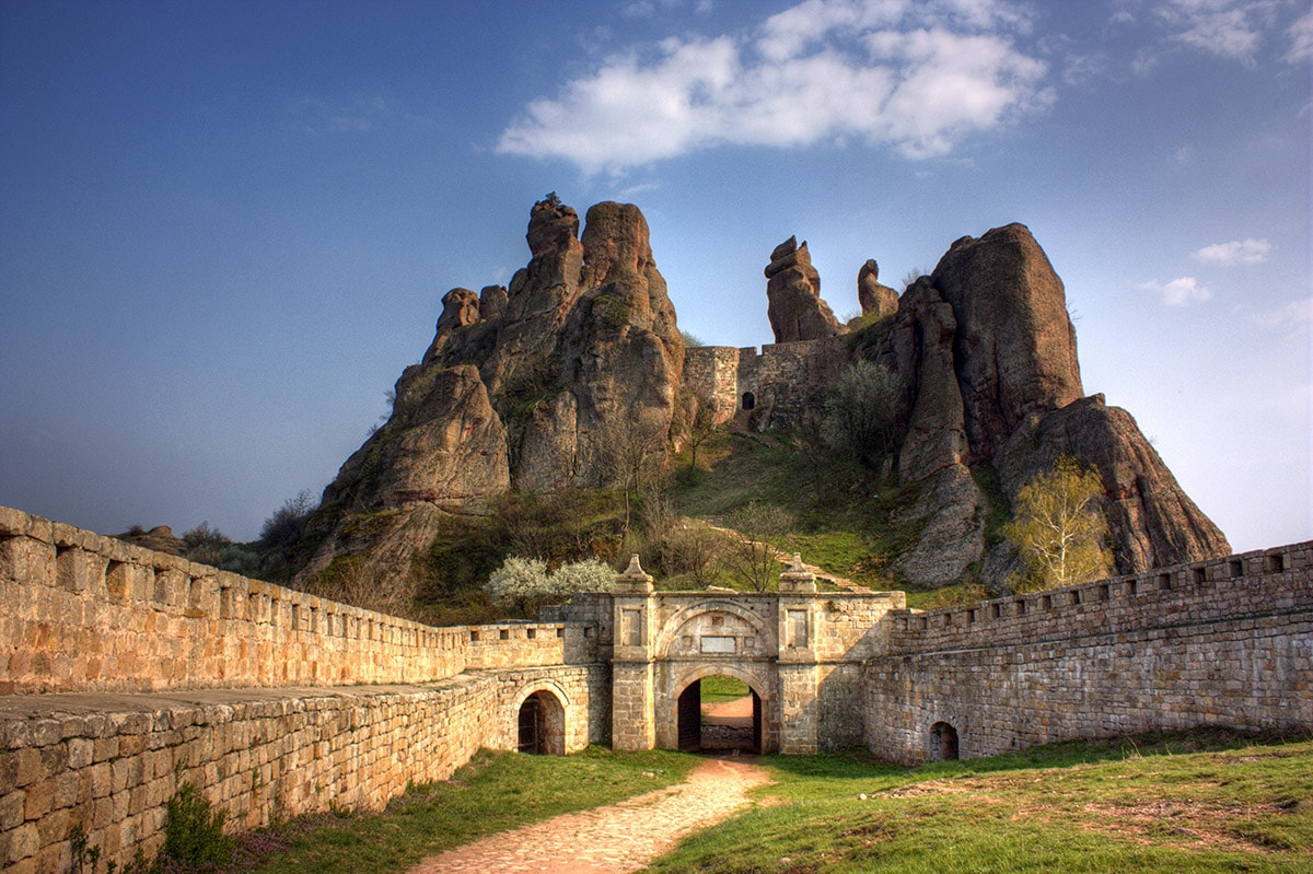 Belogradchik fortress and cliffs, Bulgaria