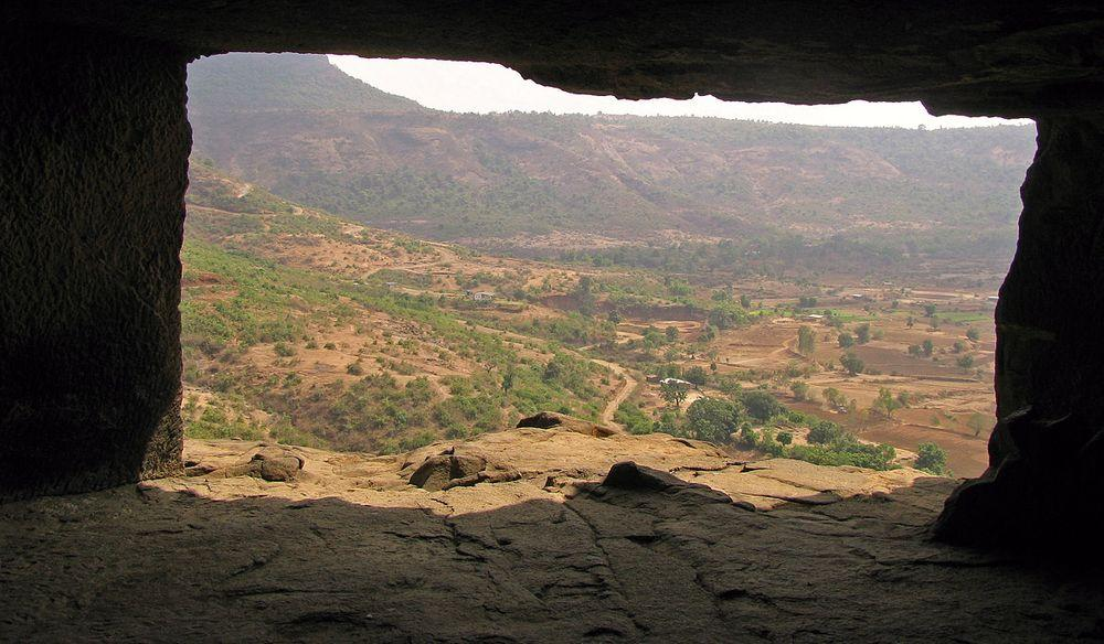 View from Bhaja Caves