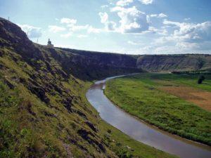 Răut Canyon at Butuceni, Moldova