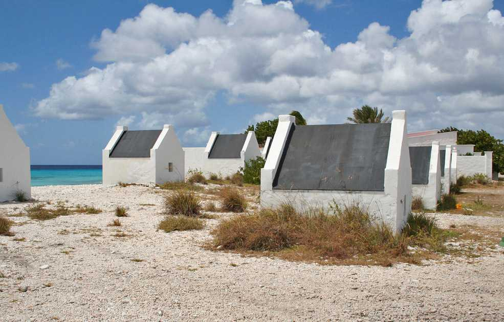 Cabaje - stone huts for the slaves, Bonaire