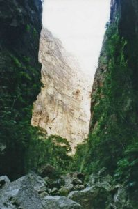 In the Canyon des Singes, Isalo Massif in Madagascar