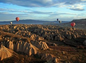 Air ballons over Cappadocia, Turkey