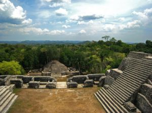 Caracol, view from Caana complex, Belize