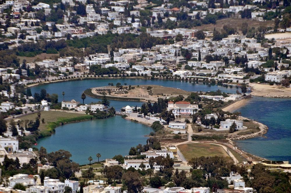 Ancient Punic ports in Carthage
