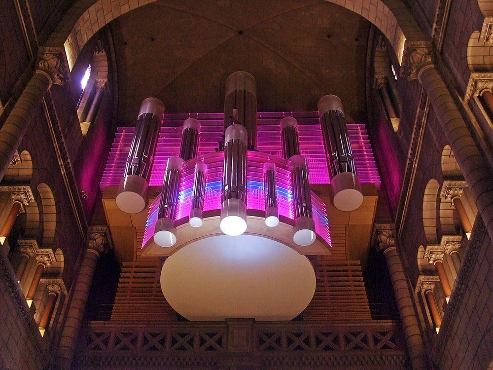 Organ in the Monaco Cathedral