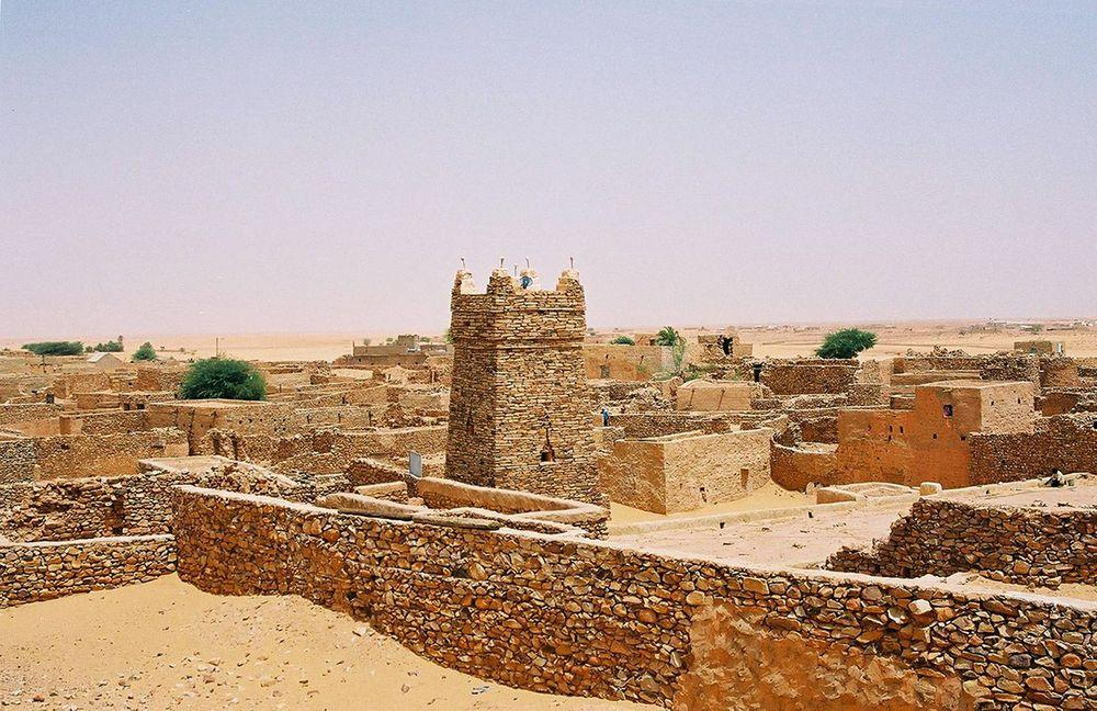 Minaret of Chinguetti Mosque, Mauritania