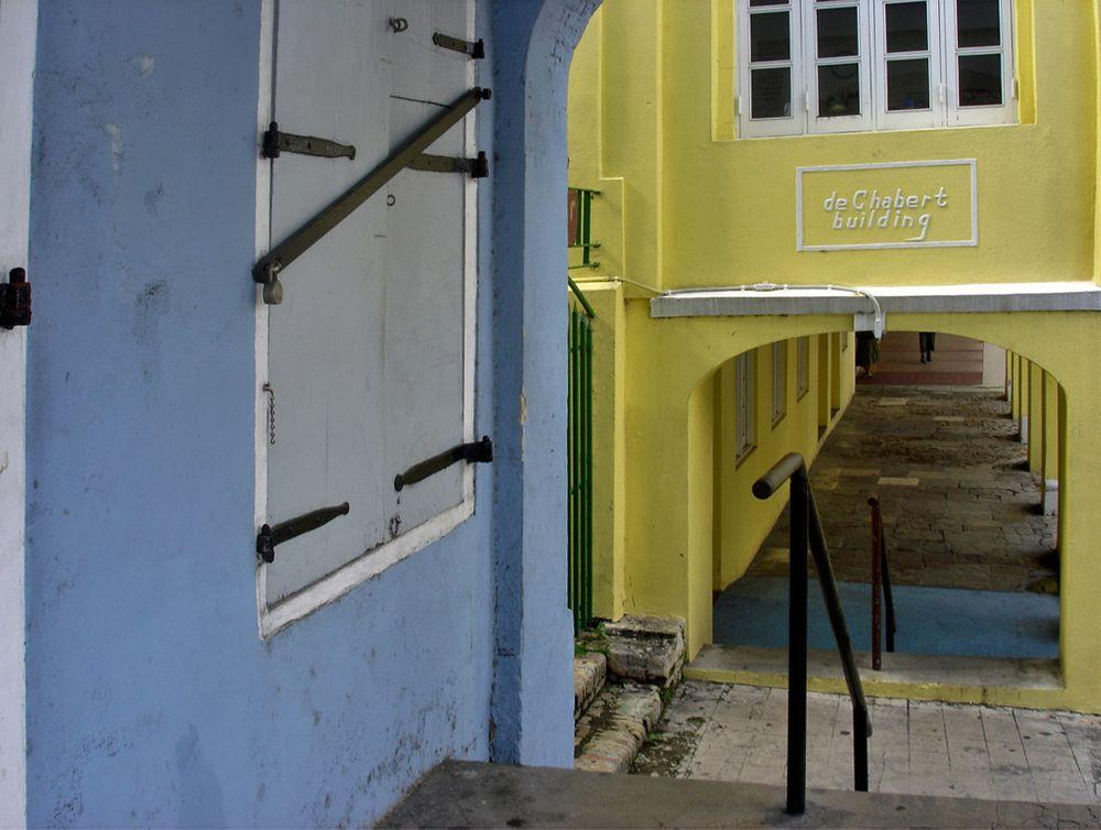 Pedestrian walkway in Christiansted