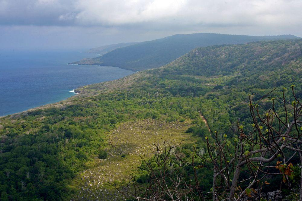 Landscape of Christmas Island