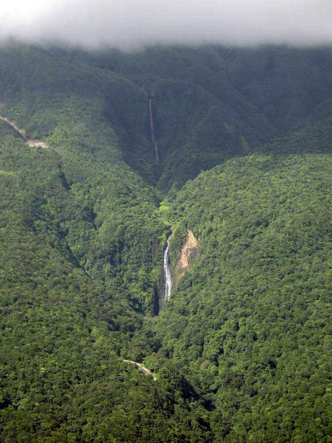Carbet Falls, Guadeloupe