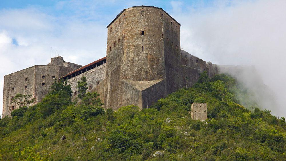 Citadelle Laferrière in Haiti - largest fortress in Americas