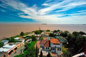 Colonia del Sacramento, view from the lighthouse, Uruguay