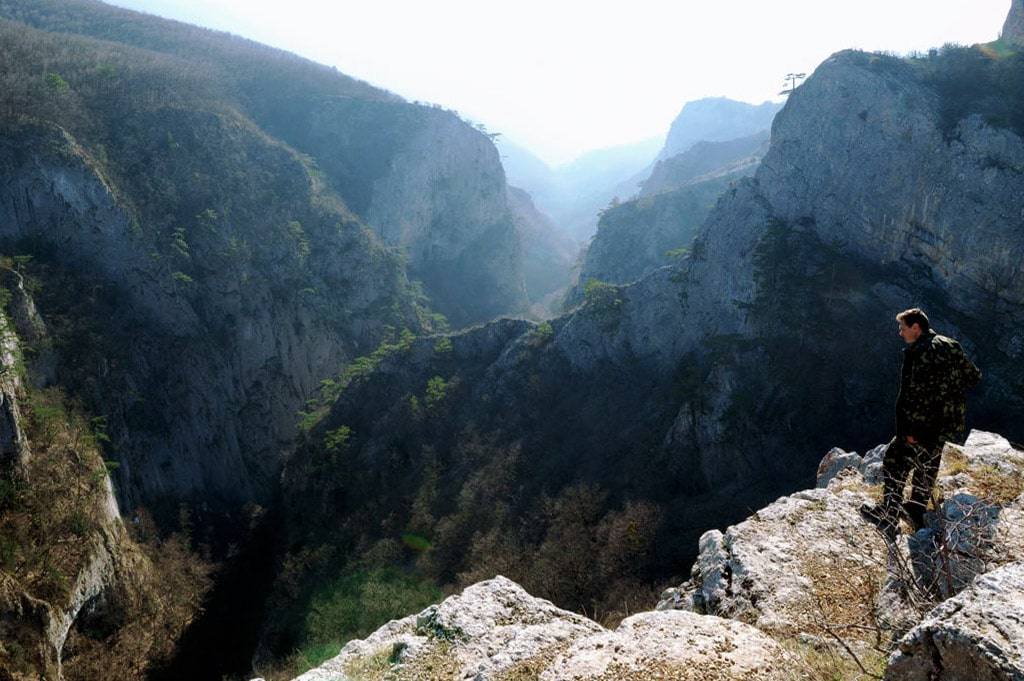 Big Canyon of Crimea