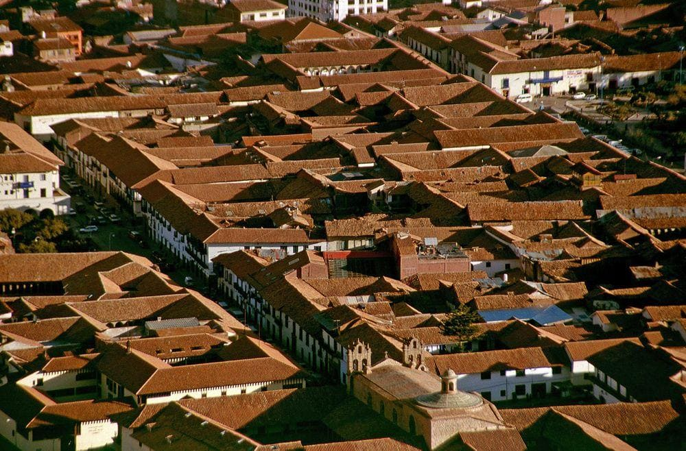Roofscape in Cusco