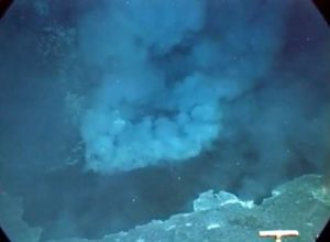 Daikoku Sulphur Cauldron at the moment of discovery, Northern Marianas