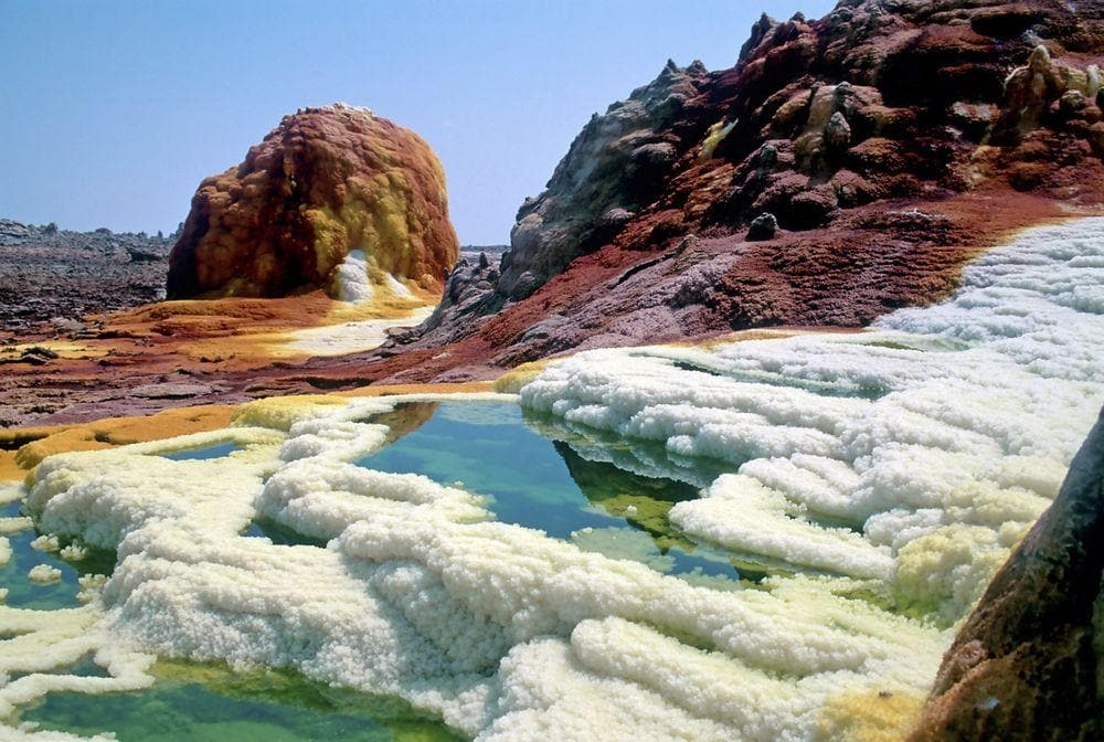 Dallol salt springs, Ethiopia