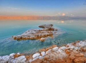 Landscape at the Dead Sea, Israel