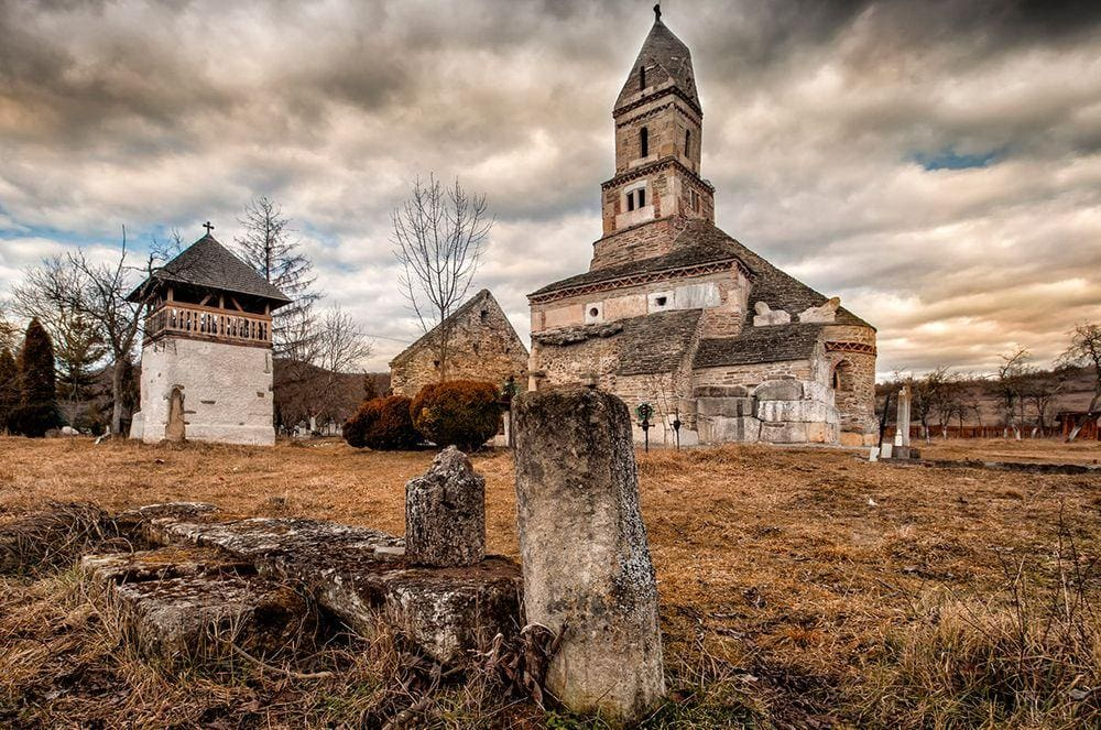 Densuș Church - the first church in the lands of Dacians, Romania