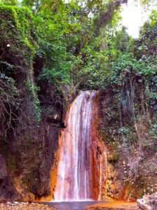 Diamond Falls, Saint Lucia