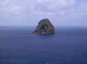 Diamond Rock near Martinique
