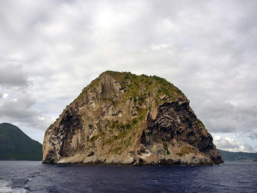 Diamond Rock near Martinique