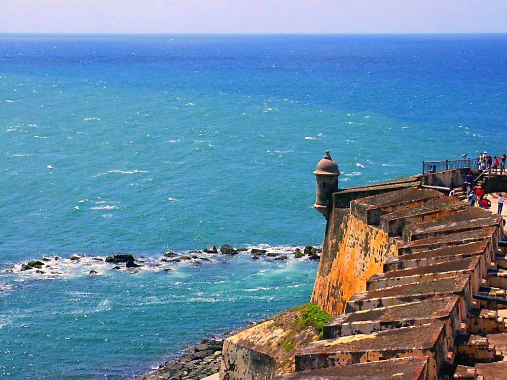 El Morro - the old fortress of San Juan, Puerto Rico