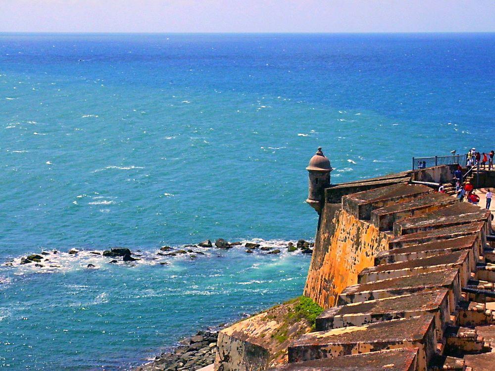 El Morro - the old fortress of San Juan, Puerto Rico
