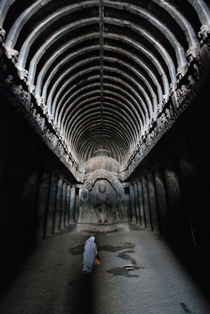 Vishvakarma Temple in Ellora Caves, India