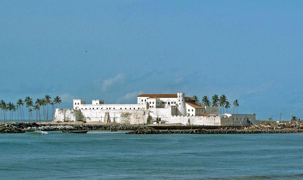 Elmina Castle - the oldest European building south of Sahara, Ghana