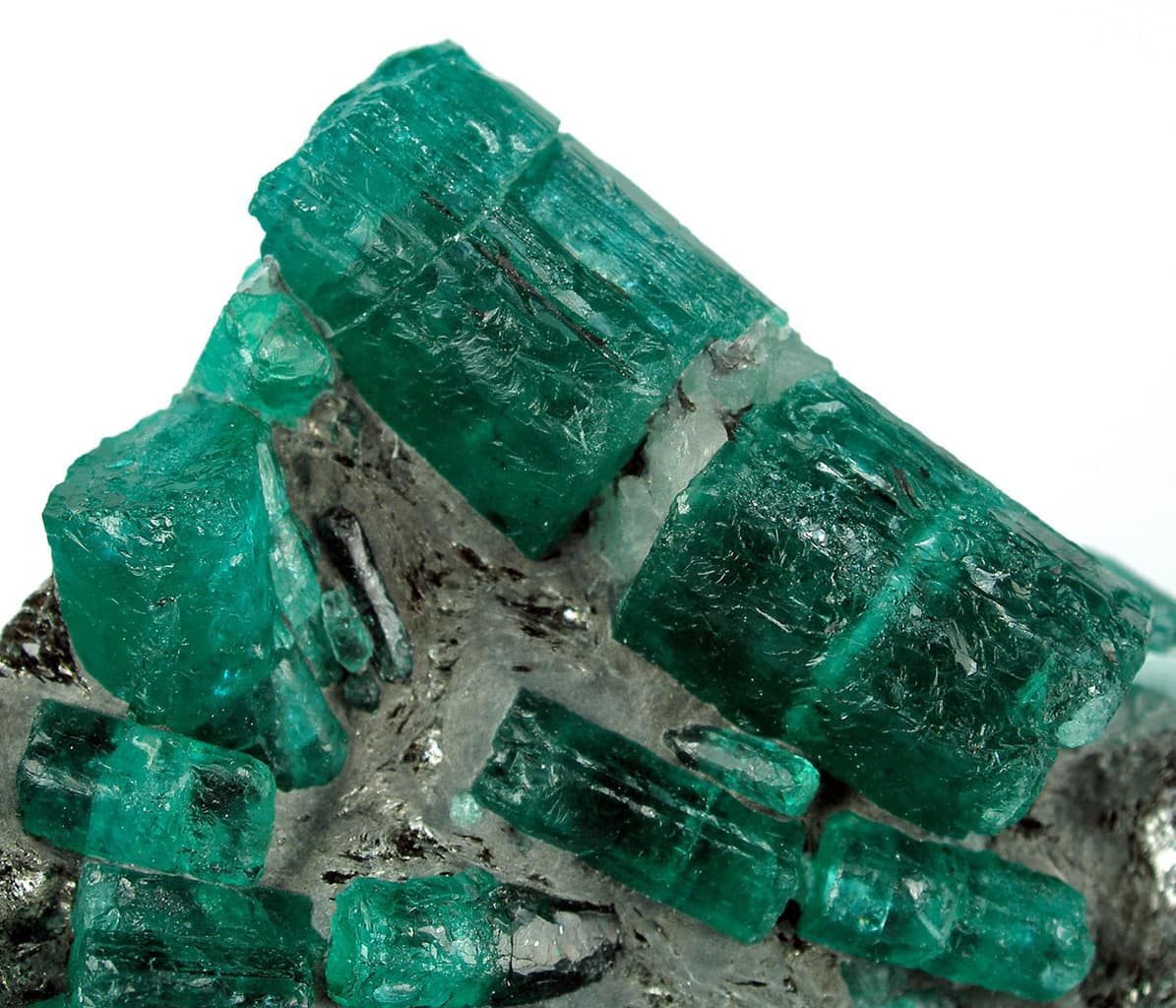 Emeralds from Kagem Mines, Zambia