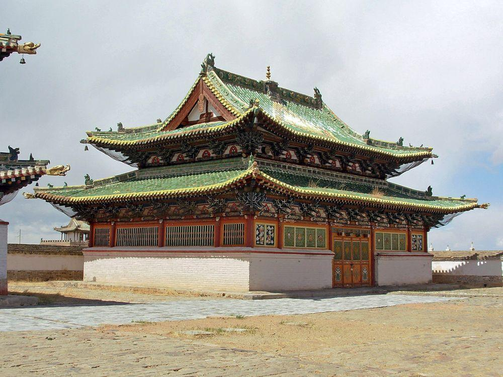 One of historical temples in Erdene Zuu monastery, Mongolia