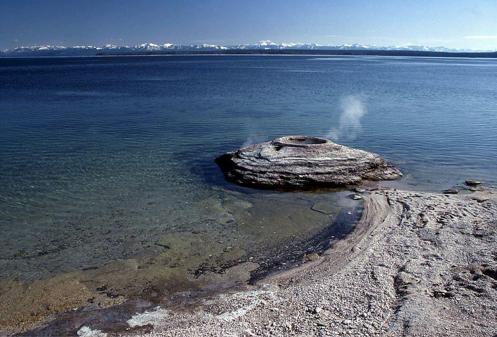 Fishing cone geyser, Wyoming, United States
