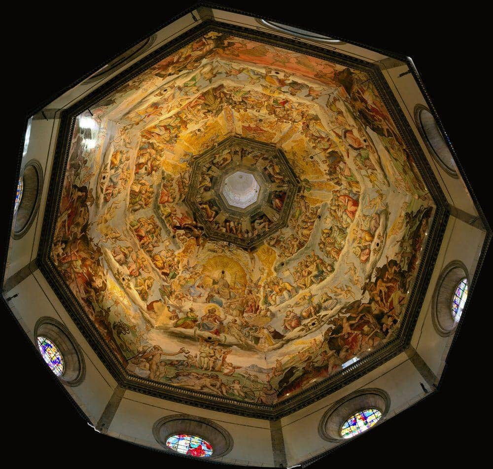 One of the largest frescoes in the world, Florence Cathedral