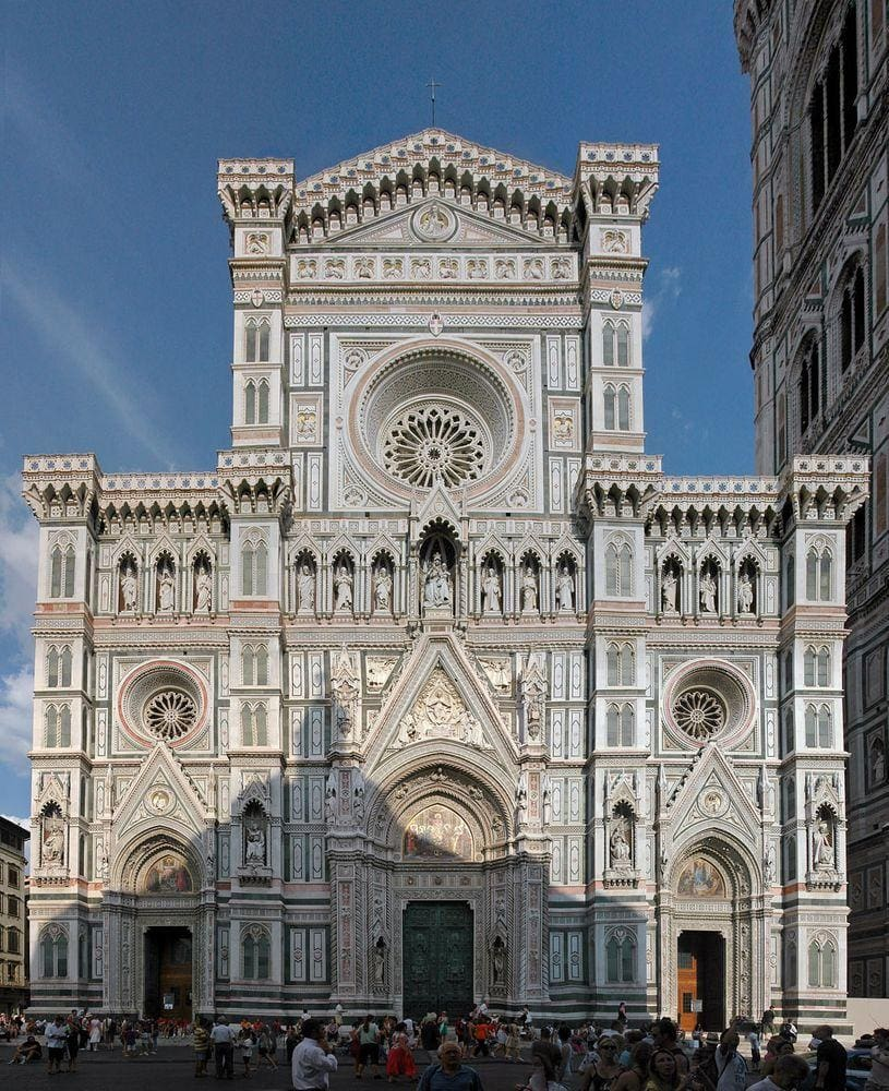 Front facade of Florence Cathedral