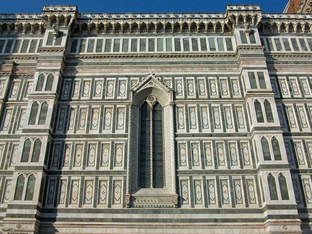 Side view of Florence Cathedral