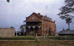 The old building of Fourah Bay College, Sierra Leone